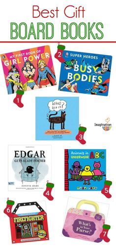 Do you have a baby or toddler who needs a book? I love this list of the best board books of 2014 -- especially the Who Did It? books!