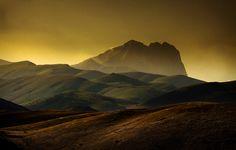 #Parco #Nazionale del #Gran #Sasso e #Monti della #Laga #tramonto #Corno #Grande