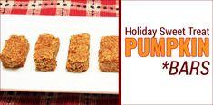 Sweet Treat Recipe: Pumpkin Bars