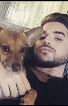 Adam Lambert and Pharaoh