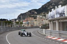 """""""Lewis claims first ever pole position in Monaco, Nico gets claiming his fourth consecutive front row grid slot"""" - Mercedes-Benz Social Publish Amg Petronas, Nico Rosberg, Monaco Grand Prix, Mercedes Amg, Front Row, Formula 1, F1, Pictures, Photos"""