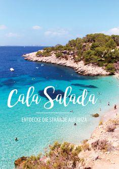 Entdecke die Strände auf Ibiza.  Erfahre mehr über die Cala Salada auf Ibiza. Beach | European Summer | Adventure | Review | Tips