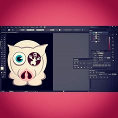 #svisiopig  #character #illustration #draw #cute #love #illustrator #vector #illust #color #animal #art #puppy #lovely #amazing #pig #piggy #oink #pink #pork #pigstagram #fatty #oinkoink #cool #cutie #hot #workinprogress #instaart #progress #project