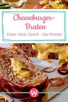 Cheeseburger-Braten: eine köstliche Kombination aus Käse, Hack und Speck!  #rezept #rezeptemithack #comfortfood