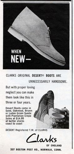 best sneakers 83a66 f49c6 Diary Of A Radical Conformist Clarks Originals Desert Boot, Clarks Desert  Boot, Desert Shoes