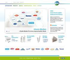DMK Deutsches Milchkontor  Corporate Website, 2012