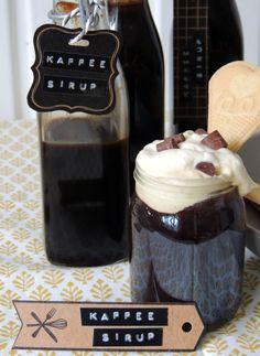 design by gutschi                   ღ: Schneller Eiskaffee mit selbstgemachten Kaffee-Sir...