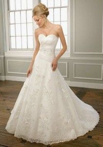 Are you shopping for affordable bridal gowns? You do not need to spend hundreds of dollars on your dress. Wedding Dress Types, Wedding Dresses With Straps, Beautiful Wedding Gowns, Wedding Attire, Bridal Dresses, Beautiful Dresses, Nice Dresses, One Shoulder Wedding Dress, Lace Wedding