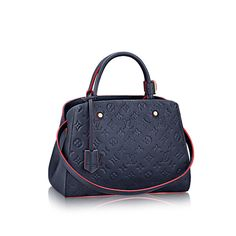 Discover Louis Vuitton Montaigne GM: For the dynamic businesswoman, the Montaigne GM is ideal. Its smartly designed interior is structured to carry all the essentials, while Monogram Empreinte leather adds a touch of sophistication.