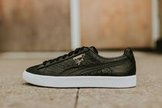 d87f97ce8d1 Puma Releases  Clyde Dressed  in Three Colorways. Celebrity ShoesPuma  SneakersPumasSneaker ...