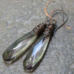 look like chandelier teardrop crystals