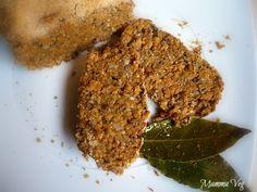 Polpettone di lenticchie al profumo di alloro