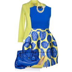 """P.A.R.O.S.H. Floral Print Skirt"" by stay-at-home-mom on Polyvore"