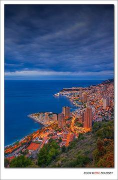 Sunrise in Monaco