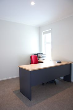 A good sized office for working from home.
