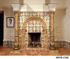 https://www.google.es/search?q=chimenea con azulejos antiguos
