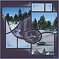 Sur les pentes enneigées... Album Photo Scrapbooking, Winter, Ideas, Ride Or Die, Winter Time, Thoughts, Winter Fashion