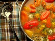 Home Cooking In Montana: Romanian(or not) Stuffed Pepper Soup