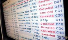 Travel chaos as fierce storm hits US;…