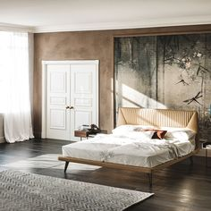 Amadeus Bed by Cattelan Italy. Made in Italy