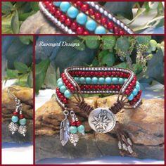Custom bracelets by Ravengirl Designs https://www.Facebook.com/RavengirlDesigns