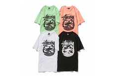 #Sasquatchfabrix x #Stussy - T-shirts Collaboration