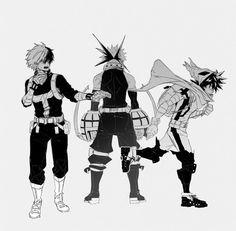 Boku No Hero Academia Funny, Buko No Hero Academia, My Hero Academia Memes, Hero Academia Characters, My Hero Academia Manga, Anime Characters, Bakugou Manga, Image Manga, Anime Boyfriend