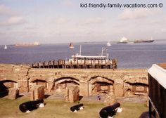 Charleston SC Vacation - Fort Sumter is a great place to take in the history of Charleston and a great view of the Harbour!