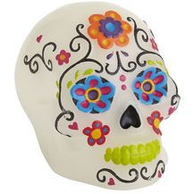 Day of the Dead LED Skull