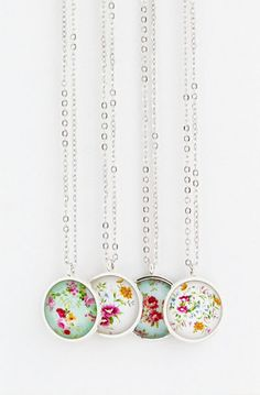 Sweet Necklace - Floral Jewelry