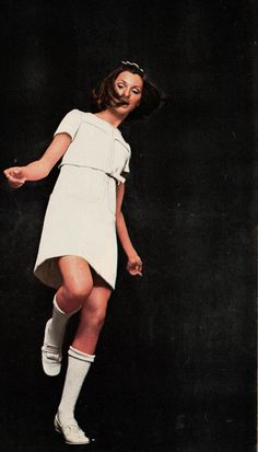 Courreges Marie France - September 1967 Photographed by Richard Rutledge