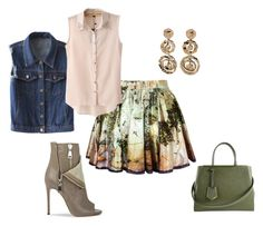 """Untitled #3671"" by browneyegurl ❤ liked on Polyvore featuring moda, Chicnova Fashion, Fendi y Casadei"