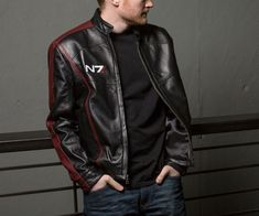 Mass Effect N7 Leather Jacket | DudeIWantThat.com