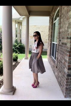 Image Consultant and Personal Stylist Elsie Jaime Sunday Look www.facebook.com/emjfashion