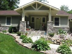 building a craftsman front porch pictures | Front Porch Ideas