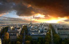 """From """"L'Arc de Triomphe"""", Paris - France"""