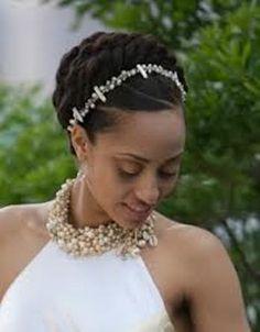Wondrous 1000 Images About Wedding Hairdos On Pinterest Black Weddings Short Hairstyles Gunalazisus