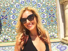 Cute Gabriela Simion Vacanta Maroc Casablanca Casablanca, Round Sunglasses, Cute, Travel, Fashion, Morocco, Moda, Viajes, Round Frame Sunglasses