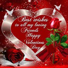 Valentines Day Wishes For Friends Valentines Day Sayings, Valentine Wishes For Friends, Happy Valentines Message, Happy Valentines Day Pictures, Valentines Day Messages, Valentine Images, Valentines Day Greetings, Valentine Stuff, Valentine Special