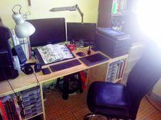 Workstation of Illustrator Suedemonkey