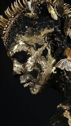 Character Concept, Character Art, Sculptures, Lion Sculpture, Mohawks, Bizarre, Visionary Art, Creative Portraits, Skull And Bones