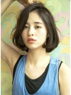 黒髪ショートボブ:2015年春夏流行♪大人かわいいショートボブスタイル<髪型/ヘアカタログ> - NAVER まとめ