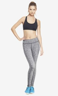EXP CORE COMPRESSION MARL LEGGING from EXPRESS