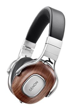 Denon Music Maniac AH-MM400 Portable Over-Ear Headphones with Apple Remote