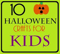 vixenMade: 10 Halloween Crafts for Kids