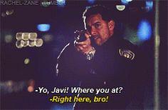 """yo, javi, where you at?"" Latest episode of Castle 3-25-13, so goooood!!!!  <3"