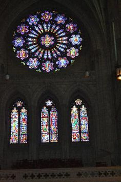Stained Glass, our National Cathedral, Washington D.C.