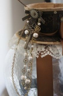 Steampunk Fashion - Tea Cup Hat