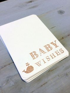 VINTAGE Baby Boy Shower   Blue Baby boy whale Vintage Baby Shower Wish Tags.