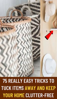 #Really #easy #tricks #tuck #items #away #keep #home #clutter #free
